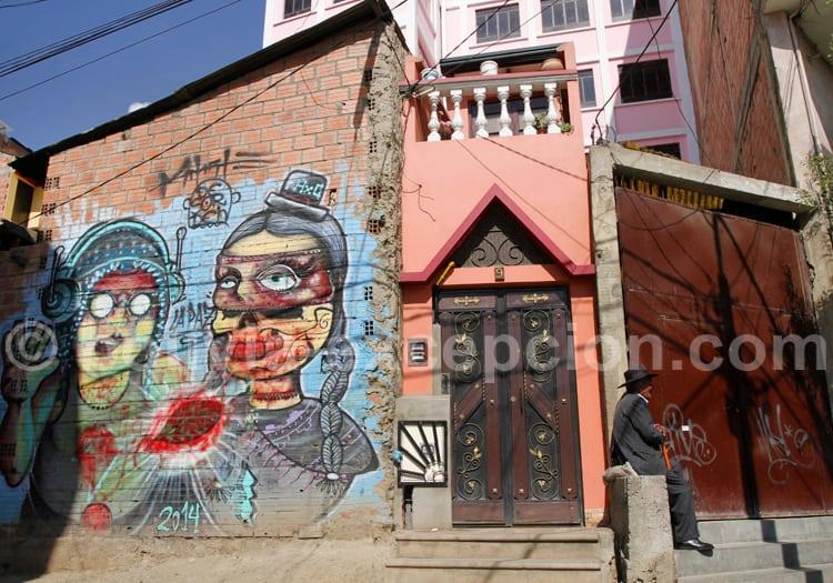 Art de rue, La Paz
