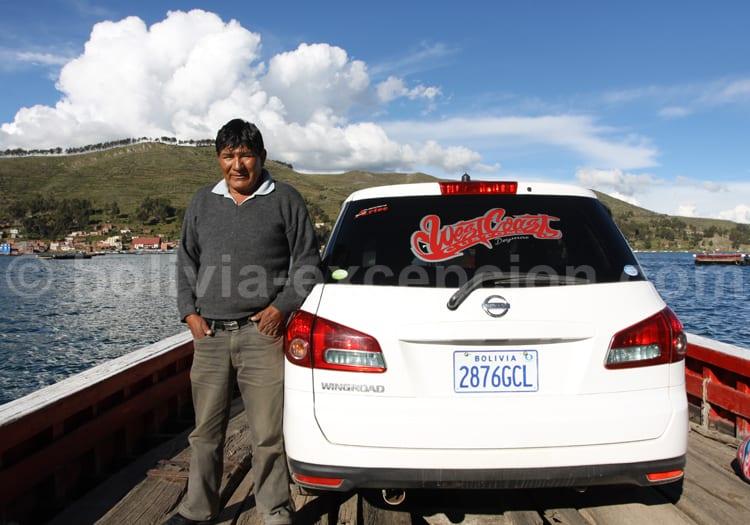 Chauffeur privé, voyage Bolivie
