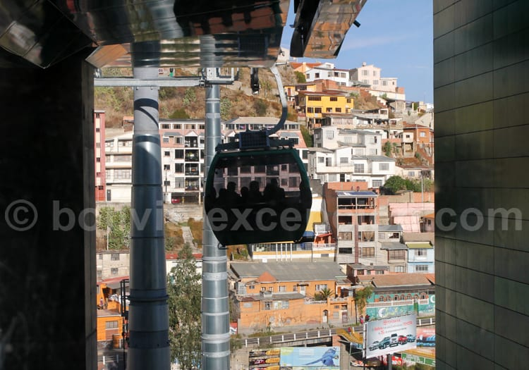 Transport, La Paz, Bolivie