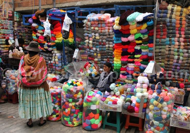 Rue Max Paredes et Santa Cruz, La Paz