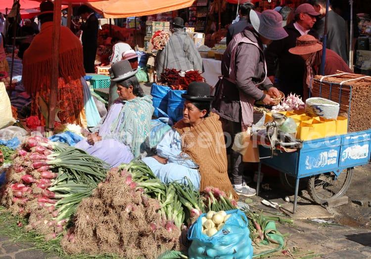 Marché bolivien, La Paz