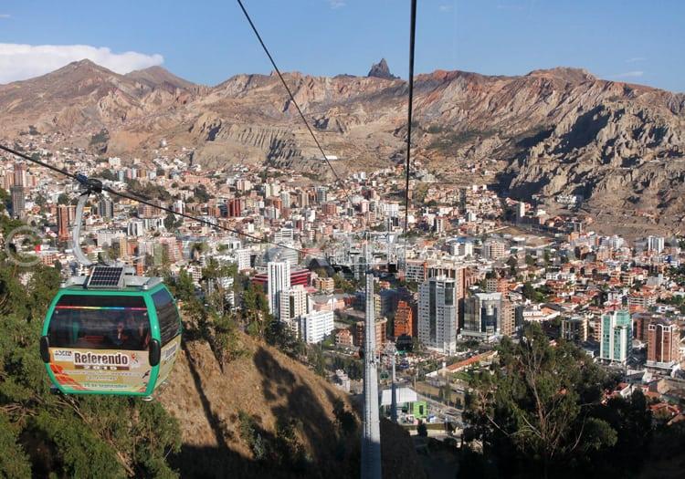 Moyen de transport, Bolivie
