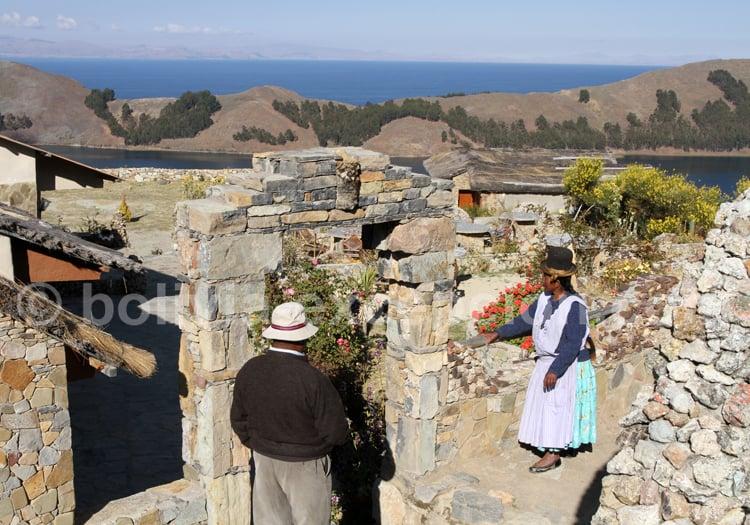 Communauté Quechua, Bolivie
