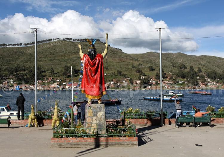 Statue inca, Tiquina