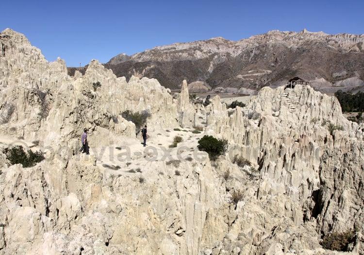 Formations rocheuses, La Paz