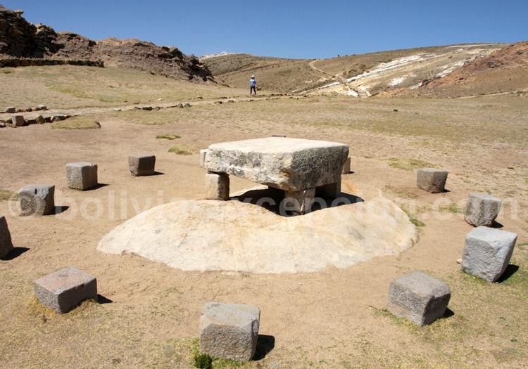 Table des sacrifices de Chinkana