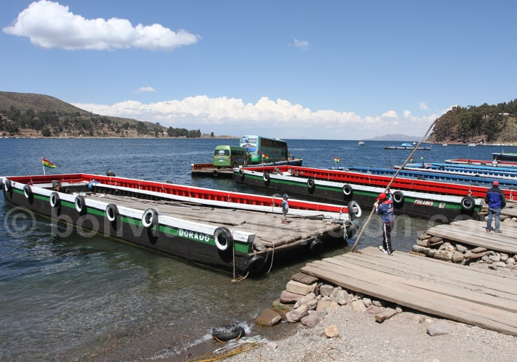 Transport, Lac Titicaca