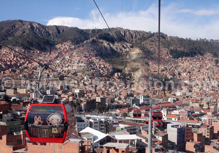 Vue sur La Paz, Bolivie