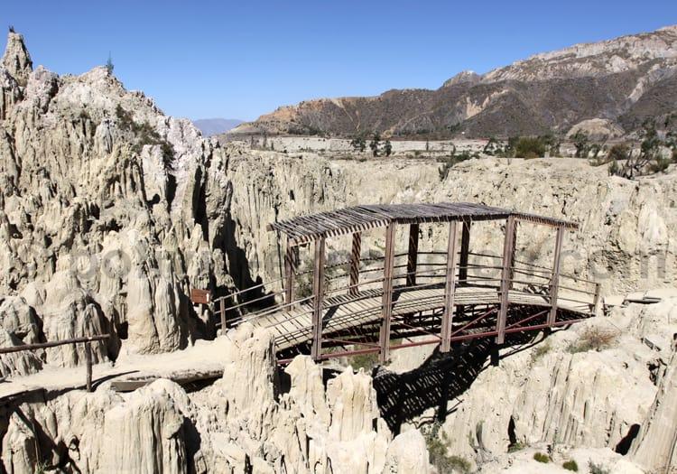 Site naturel, Valle de la Luna