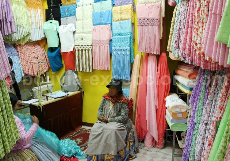 Magasin de vêtement, La Paz