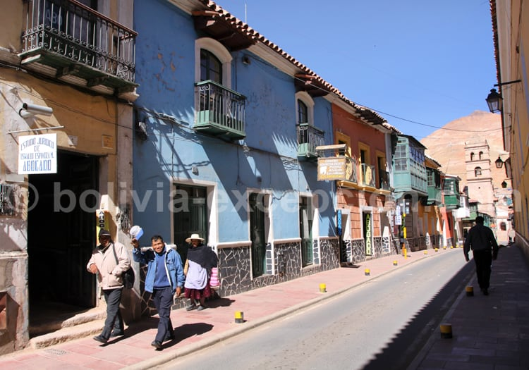 Ruelle de Potosi, Bolivie
