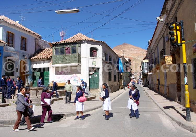 Scène de rue Potosi