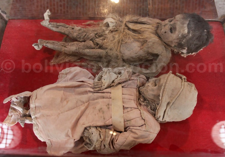 Enfants momifiés, Casa de la Moneda