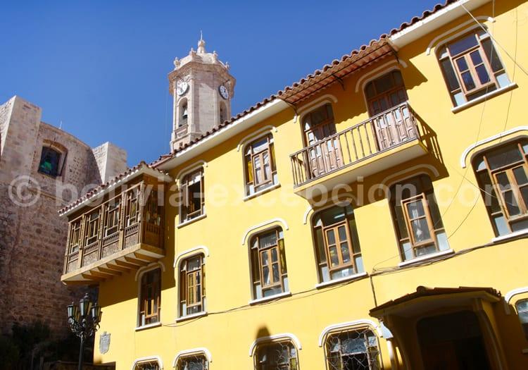 Architecture coloniale de Potosi