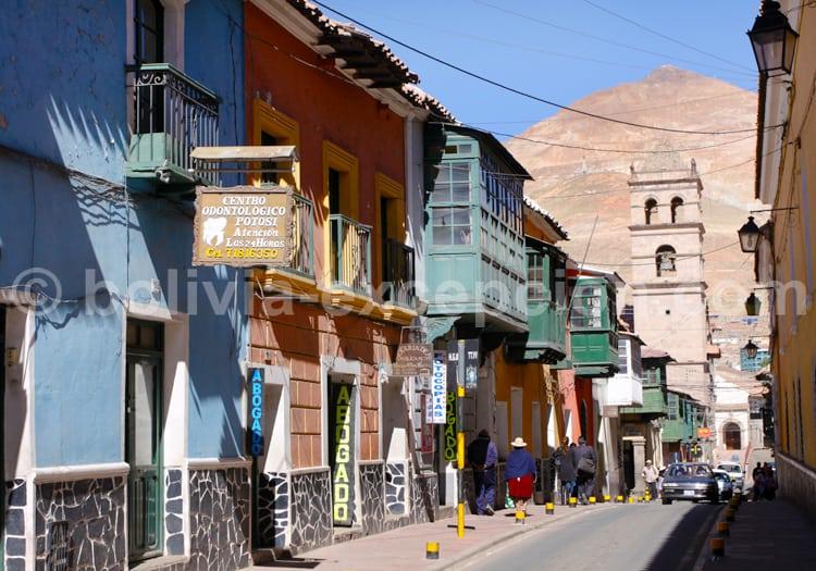 Potosi au pied du Cerro Rico
