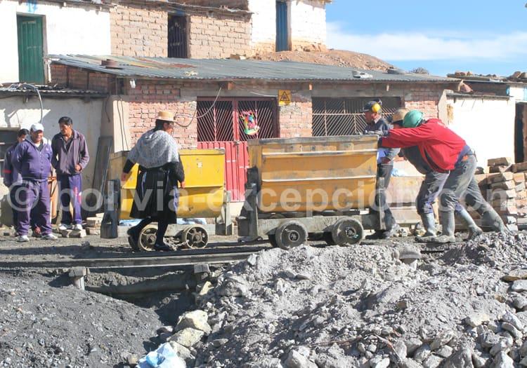 Extraction du minerai