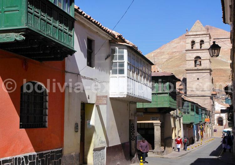 Ancienne ville coloniale de Potosi