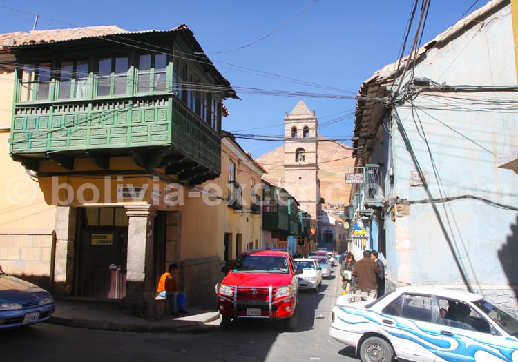 Visite de la ville historique de Potosi