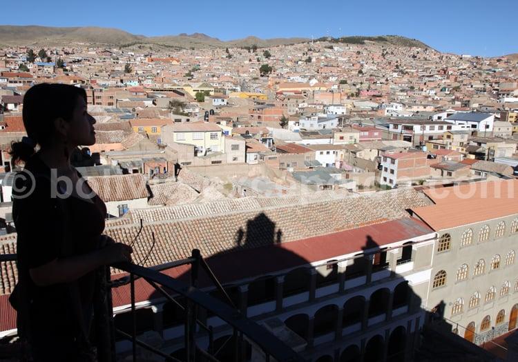 Visite du couvent de San Francisco, Potosi
