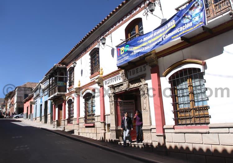 Héritage colonial, Potosi, Bolivie