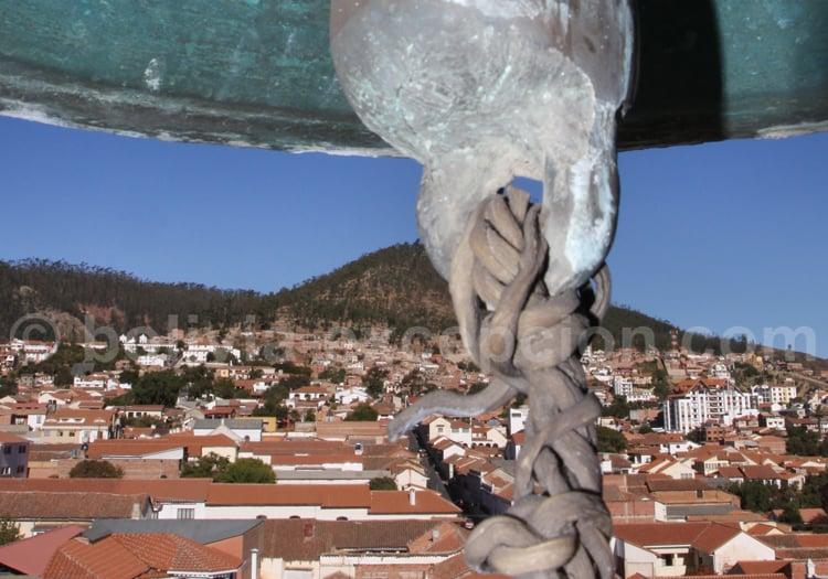 Sur les toits du couvent San Felipe de Neri