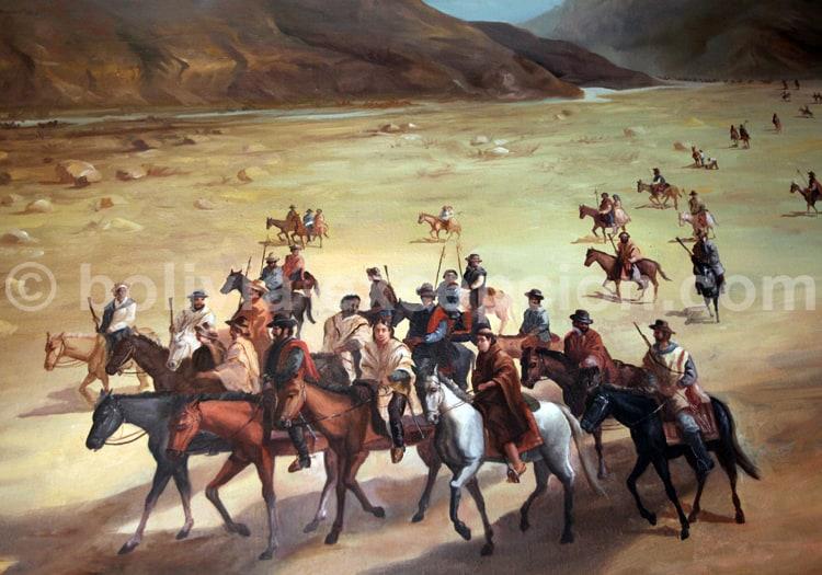 Manuel Asencio Padilla, El Villar Chuquisaca 1816