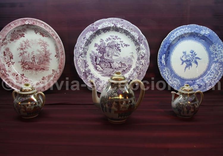 Assiettes de porcelaine, Potosi