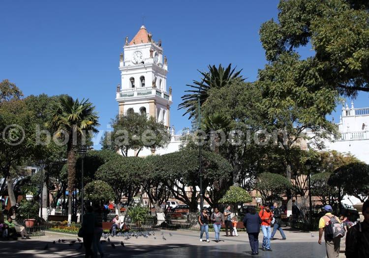 Plaza 25 de Mayo, Sucre