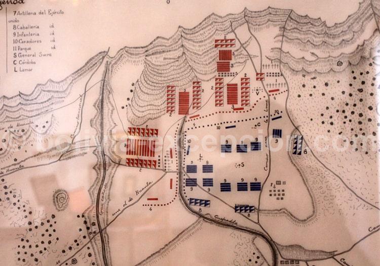 Bataille Ayacuyo 1824