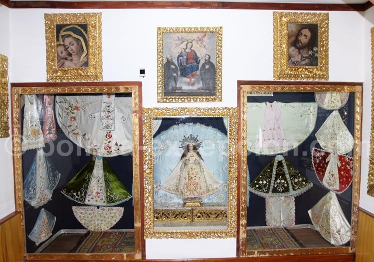 Représentation de la Vierge