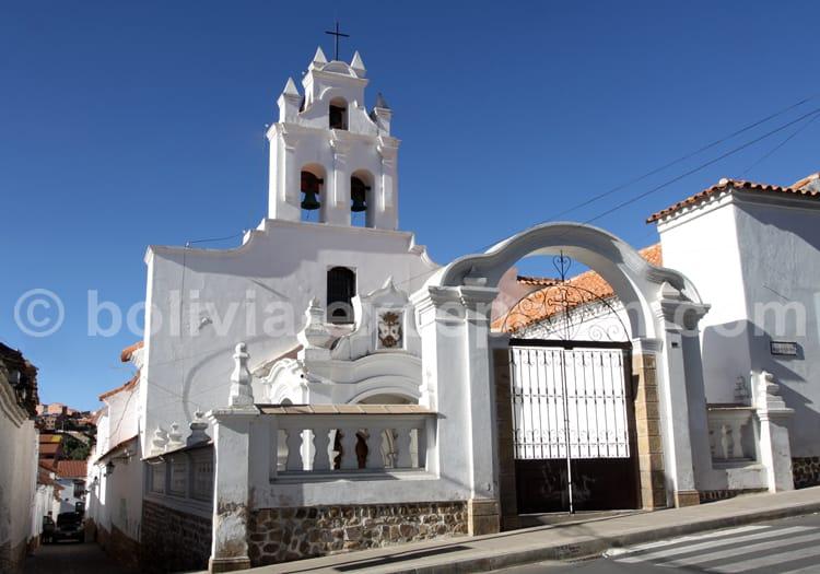 Clochers, ville de Sucre