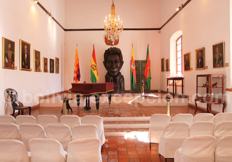 Histoire de la Bolivie, Casa de la Libertad
