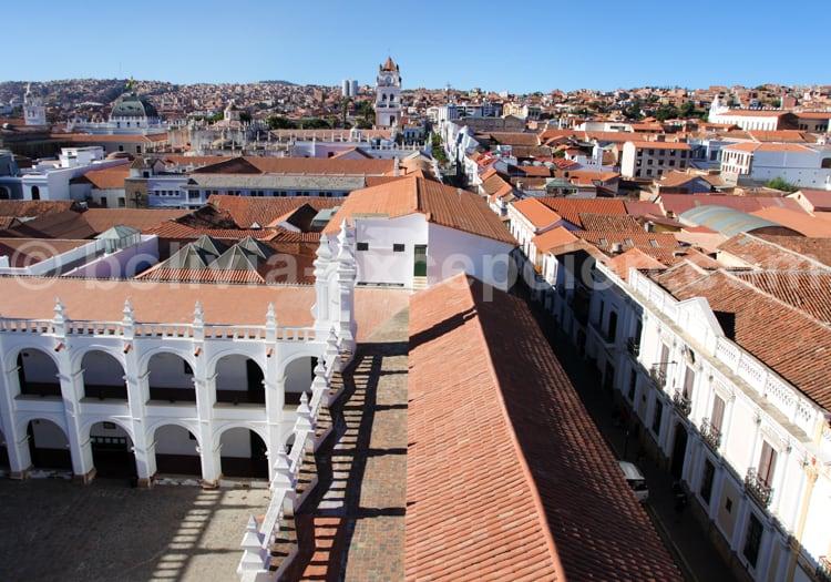 Panorama sur la ville de Sucre