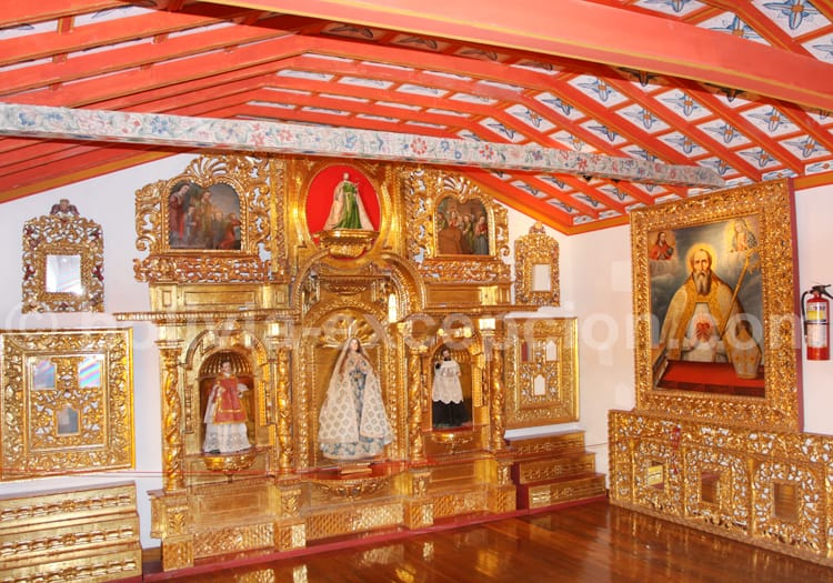 Retable, Convento de Santa Teresa