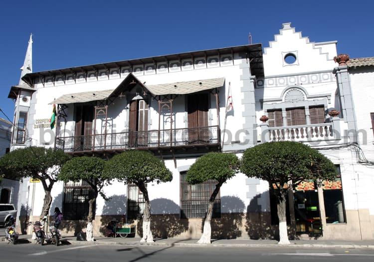 Maison coloniale, Sucre, Bolivie