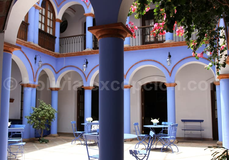 Patio colonial, Sucre