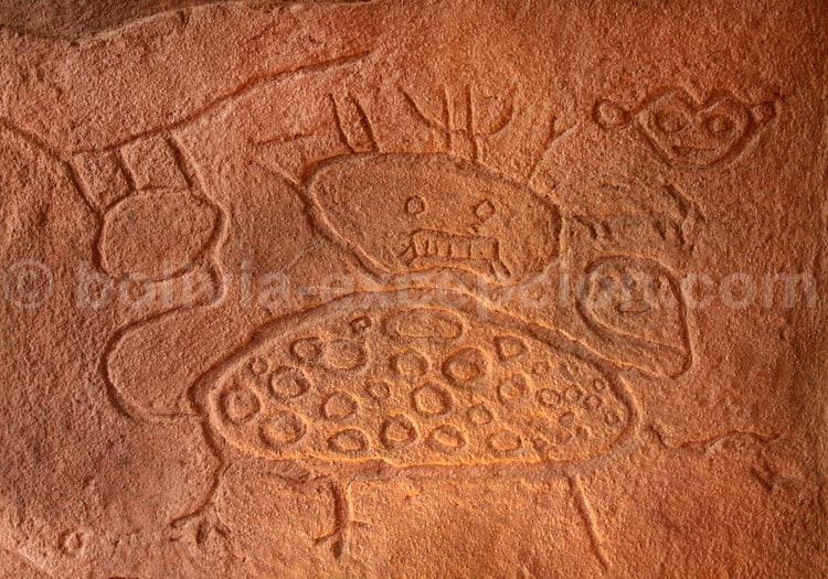 Pétroglyphe Tanga Tanga, reproduction