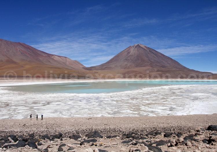 Changement de couleur, Laguna Verde