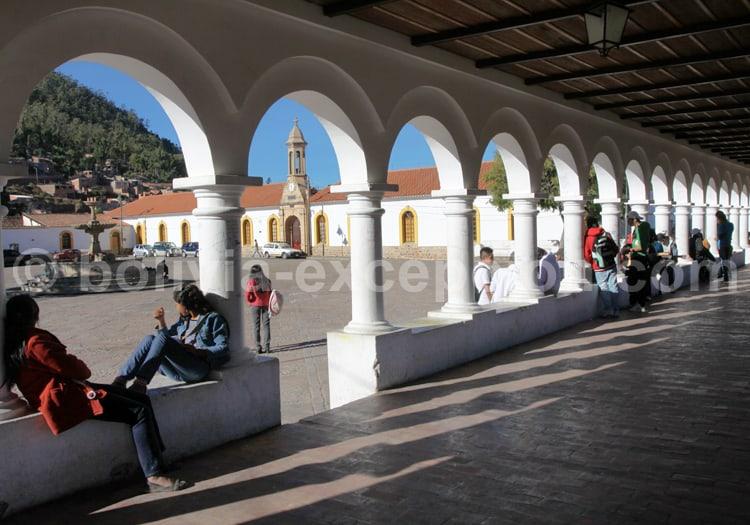 Plaza Recoleta, Sucre