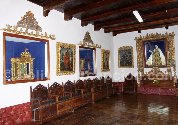 Visite du couvent de Santa Teresa, Potosi