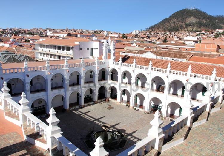 Vue sur la ville de Sucre