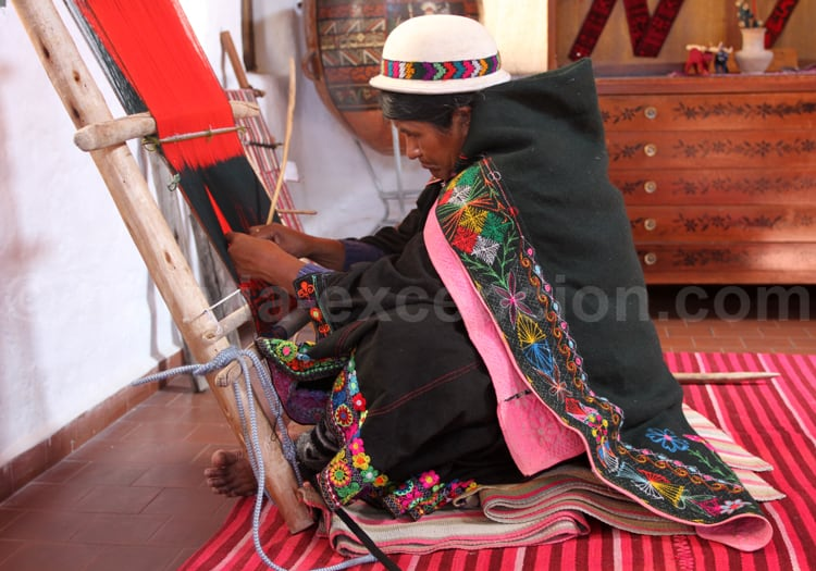 Production textile artisanale, Chuquisaca