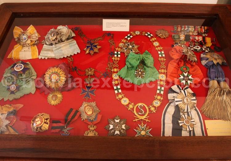 Médailles militaires, Sucre, Bolivie