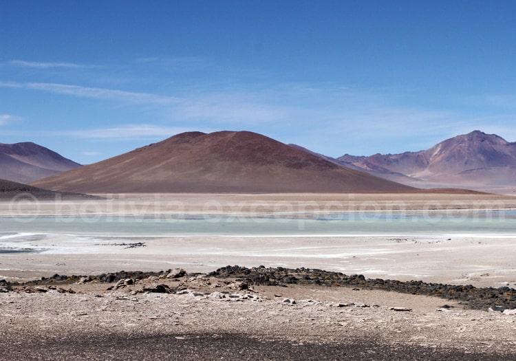 Laguna Verde, Altiplano bolivien