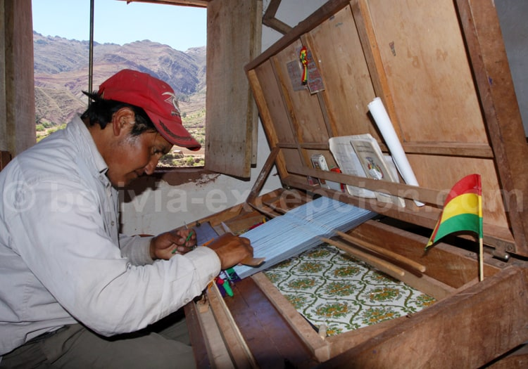 Métier à tisser, Bolivie