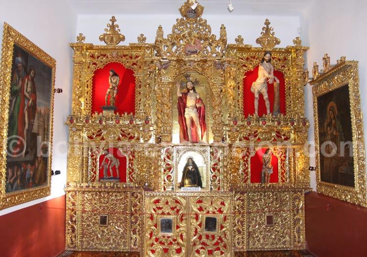 Retable, Couvent de Santa Teresa