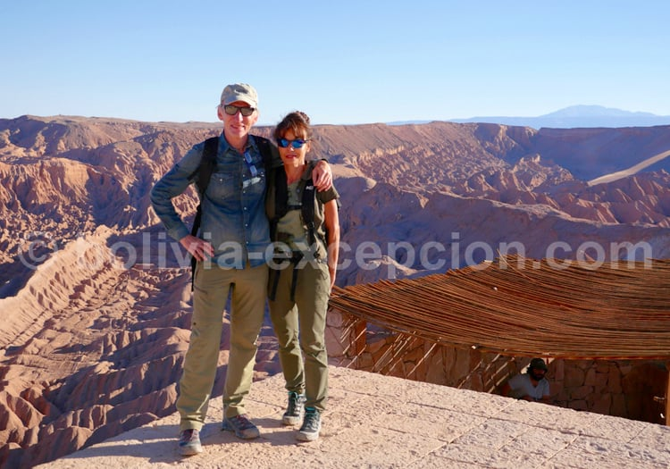 Pierre et Patricia à Atacama