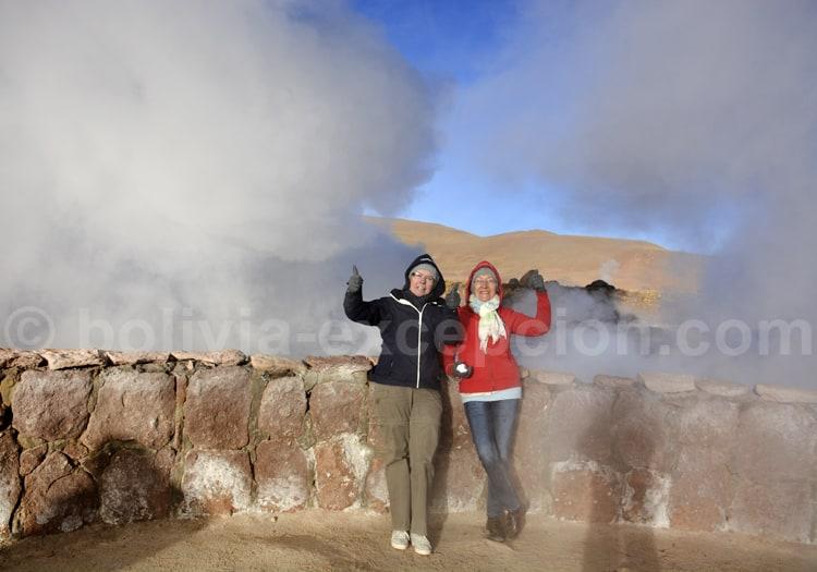 Anne et Martin au Chili
