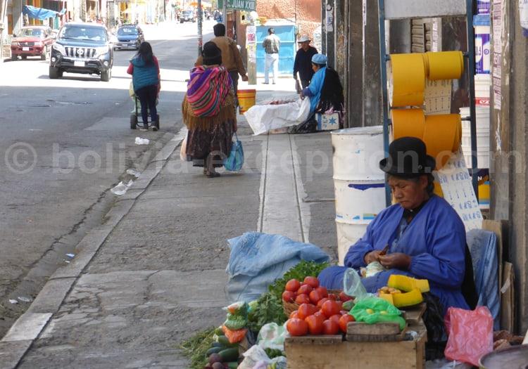 Scène de rue, Bolive
