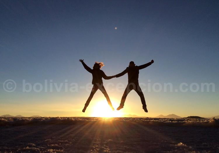 Hervé et Sabine en Bolivie